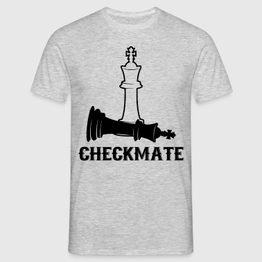 CheckMate, Chess Pawn, Chess Lover - Men's T-Shirt