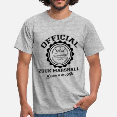 Martinique 972 Official Zouk marshall-bl - T-shirt Homme