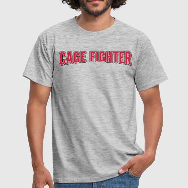 Combat En Cage cage Fighter - T-shirt Homme