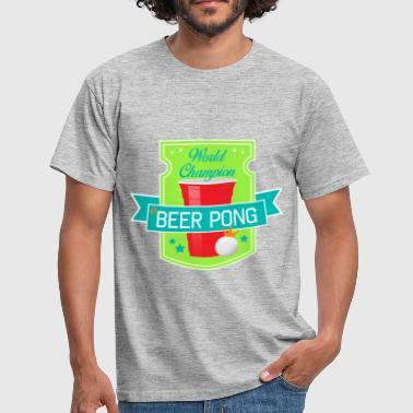 World Champion of Beer pong - T-shirt Homme