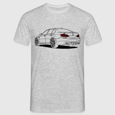 Sports Saloon Outlines - Mannen T-shirt