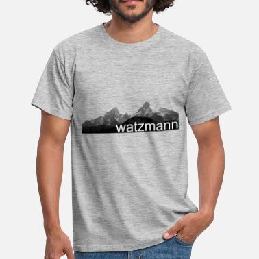 Southern Germany watzmann - Men's T-Shirt