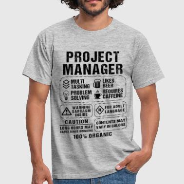 Project Manager Project Manager - Men's T-Shirt