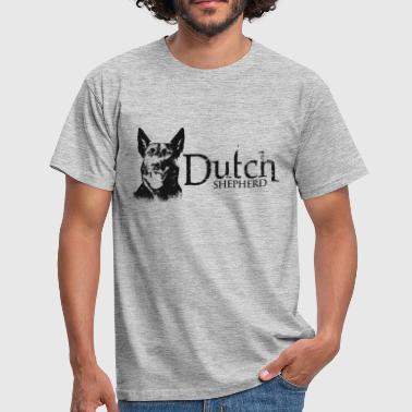 Dutchy Dutchie -Dutch Shepherd - Men's T-Shirt