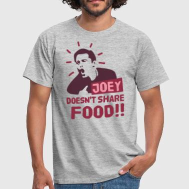 Joey-doesnt-share-alimentaire rouge - T-shirt Homme