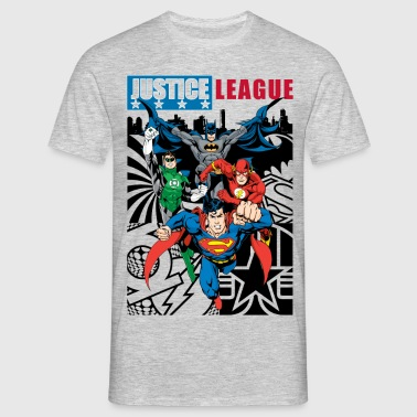 Tee-shirt Homme Justice League Comic Cover 1 - T-shirt Homme