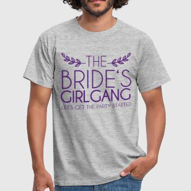 The Bride's Girlgang - Herre-T-shirt