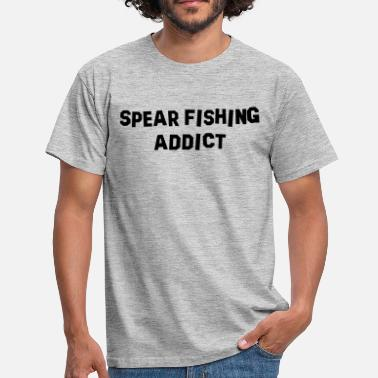 Spear Fishing spear fishing addict - Men's T-Shirt