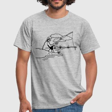Shore Fishing relax shore - Men's T-Shirt