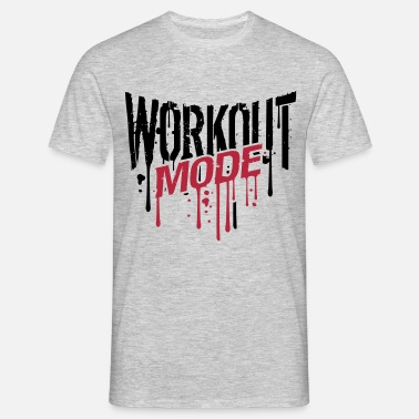 Workout Graffiti workout fashion graffiti drop gym spray beast cool - Men's T-Shirt