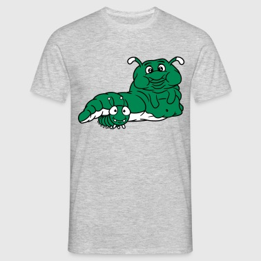 small 2 friends team couple fat fat overweight hun - Men's T-Shirt