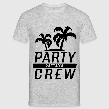 Pattaya Party Crew - Männer T-Shirt