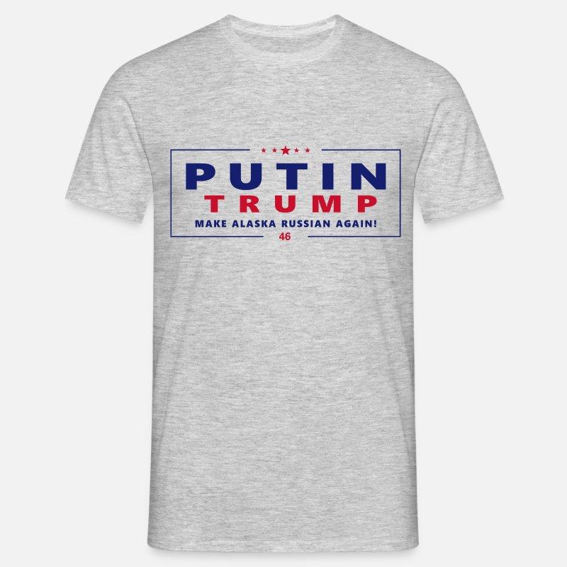 Putin Trump Make RUSSIA T Shirt T skjorte | Teezily