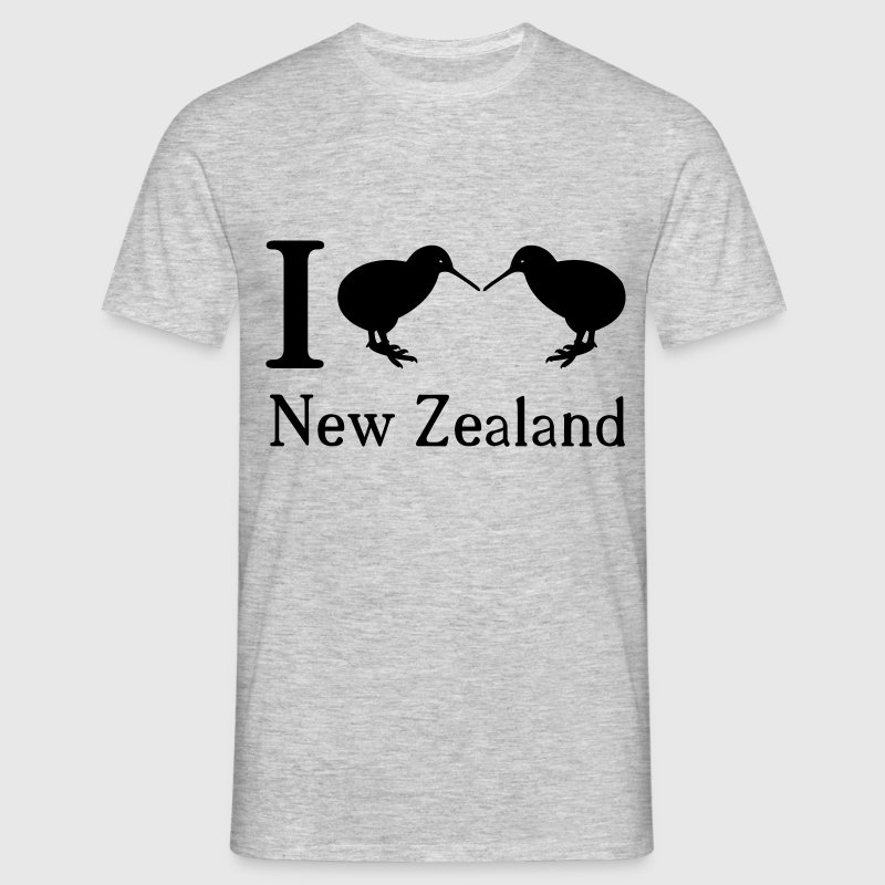 I love New Zealand - Männer T-Shirt