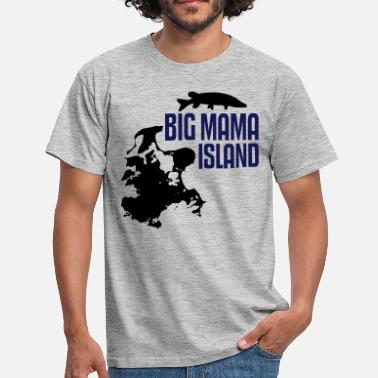 Rügen Rügen - Big Mama Island - Men's T-Shirt