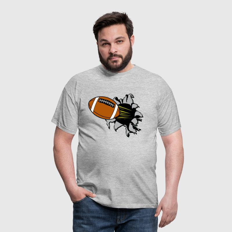 American Football Loch - Männer T-Shirt