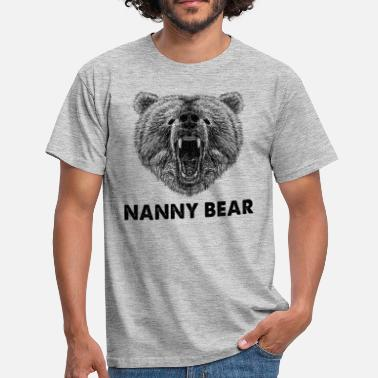 Cool Nanny Bear Wild Grizzly Bear Funny Gifts.SALE - T-shirt herr
