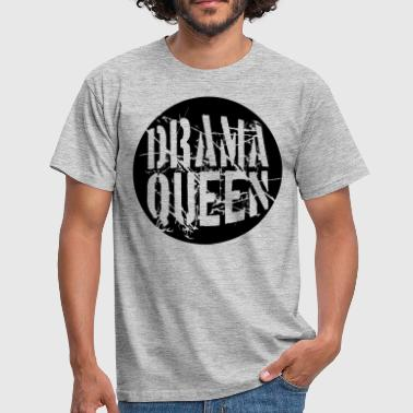Ballers drama queen round ball circle ball stamp woman pri - Men's T-Shirt