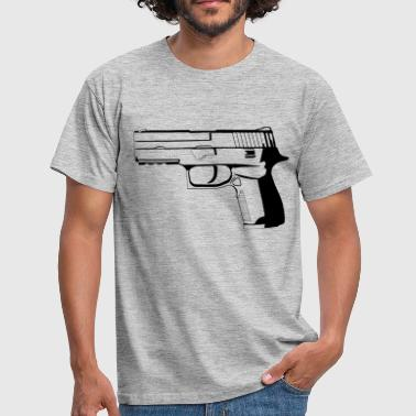 Pistol 9mm - Men's T-Shirt
