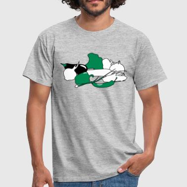 vegetable paprika broccoli - Men's T-Shirt