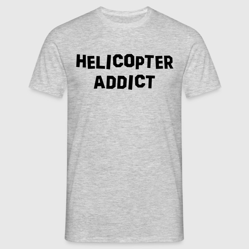 helicopter addict - Men's T-Shirt