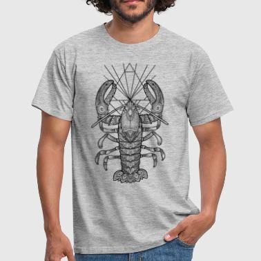 Geometric Lobster - Men's T-Shirt