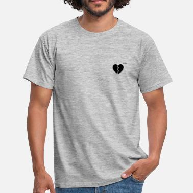 Peep HEARTBROKEN + - Men's T-Shirt