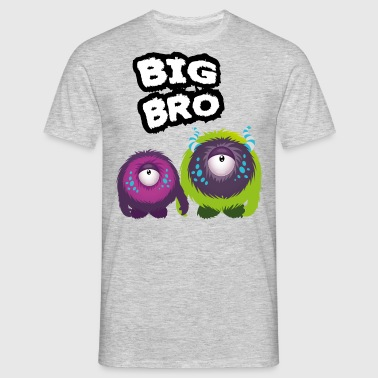 Big Bro Monster - Camiseta hombre