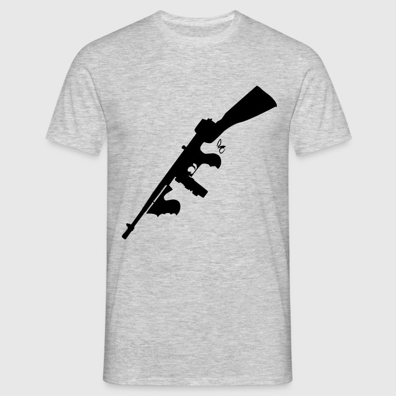 tommy gun - Men's T-Shirt