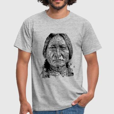 Sitting Bull Portrait - T-shirt Homme