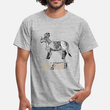 The Pattern Rhino - la tendencia animal 2019 - Camiseta hombre f9b8b59be92c2
