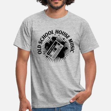 House Music HOUSE MUSIC OLD SCHOOL ✫ T-Shirt - Männer T-Shirt