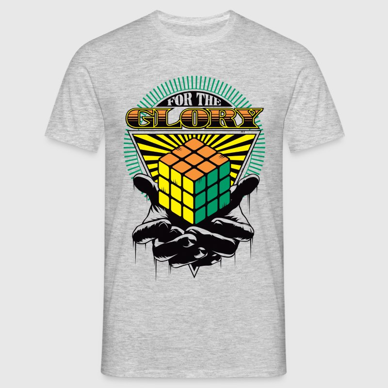 Rubik's For The Glory - T-shirt Homme