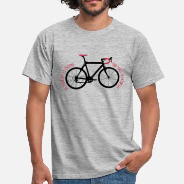 Bicycle and twice as expensive - Mannen T-shirt