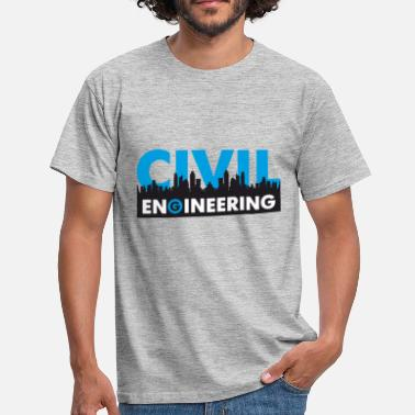 Civil Engineering Civil Engineering - Männer T-Shirt