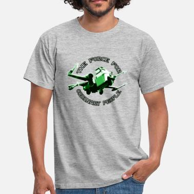 Piaggio Ape X-wing Ordinary green - T-shirt Homme