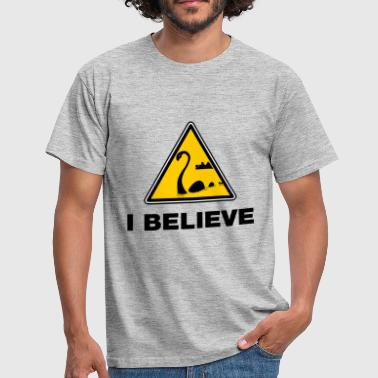 Believe loch ness moster - T-shirt Homme