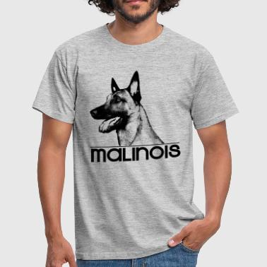 Malinois - Belgian shepherd -Mechelaar -Maligator - Men's T-Shirt