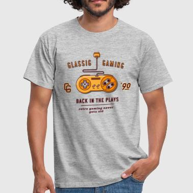 classic gaming - T-shirt Homme
