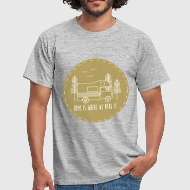Campervan Campervan - Men's T-Shirt