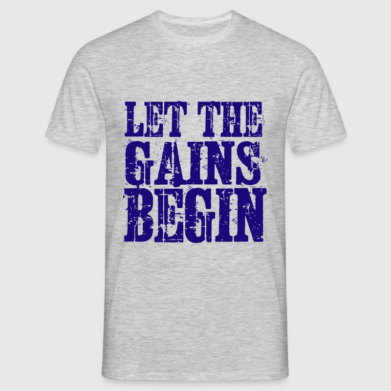 Fitness Gains - Men's T-Shirt
