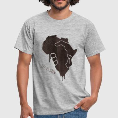 squizzing africa - T-shirt Homme