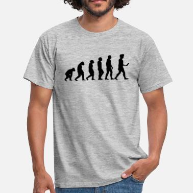 Android evolution men smartphone evolución ape - Männer T-Shirt