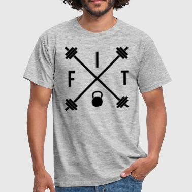 Lifting Hipster Fit  - Men's T-Shirt