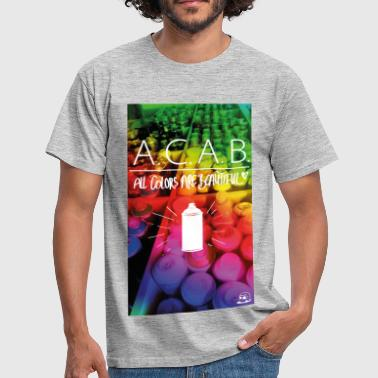 All colors are beautiful - Männer T-Shirt