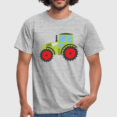 Green Tractor - Men's T-Shirt