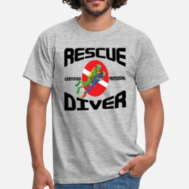 Northumberland SCUBA Rescue Diver - T-shirt Homme