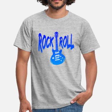 Rock And Roll Rock 'n' Roll / Rock And Roll / Rock & Roll - Männer T-Shirt