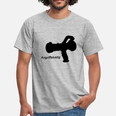 Aggression aggressive - Men's T-Shirt