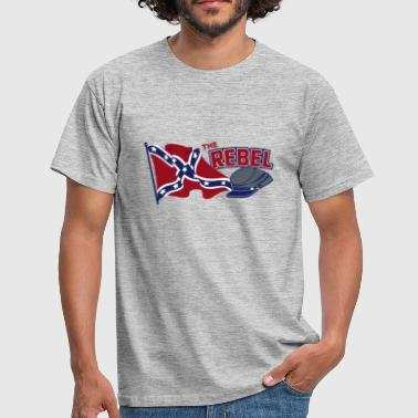 Rebel Flag Rebel flag - Herre-T-shirt